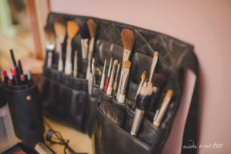 protocolo de maquillaje de novia