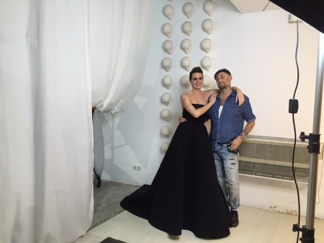 Reportaje de Alejandra Ortiz para Semana, maquillaje by Mar Martínez