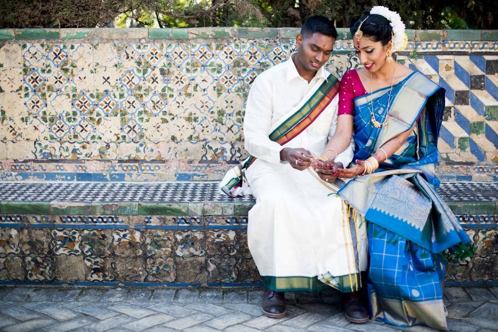 La boda india de Pooj y Siva