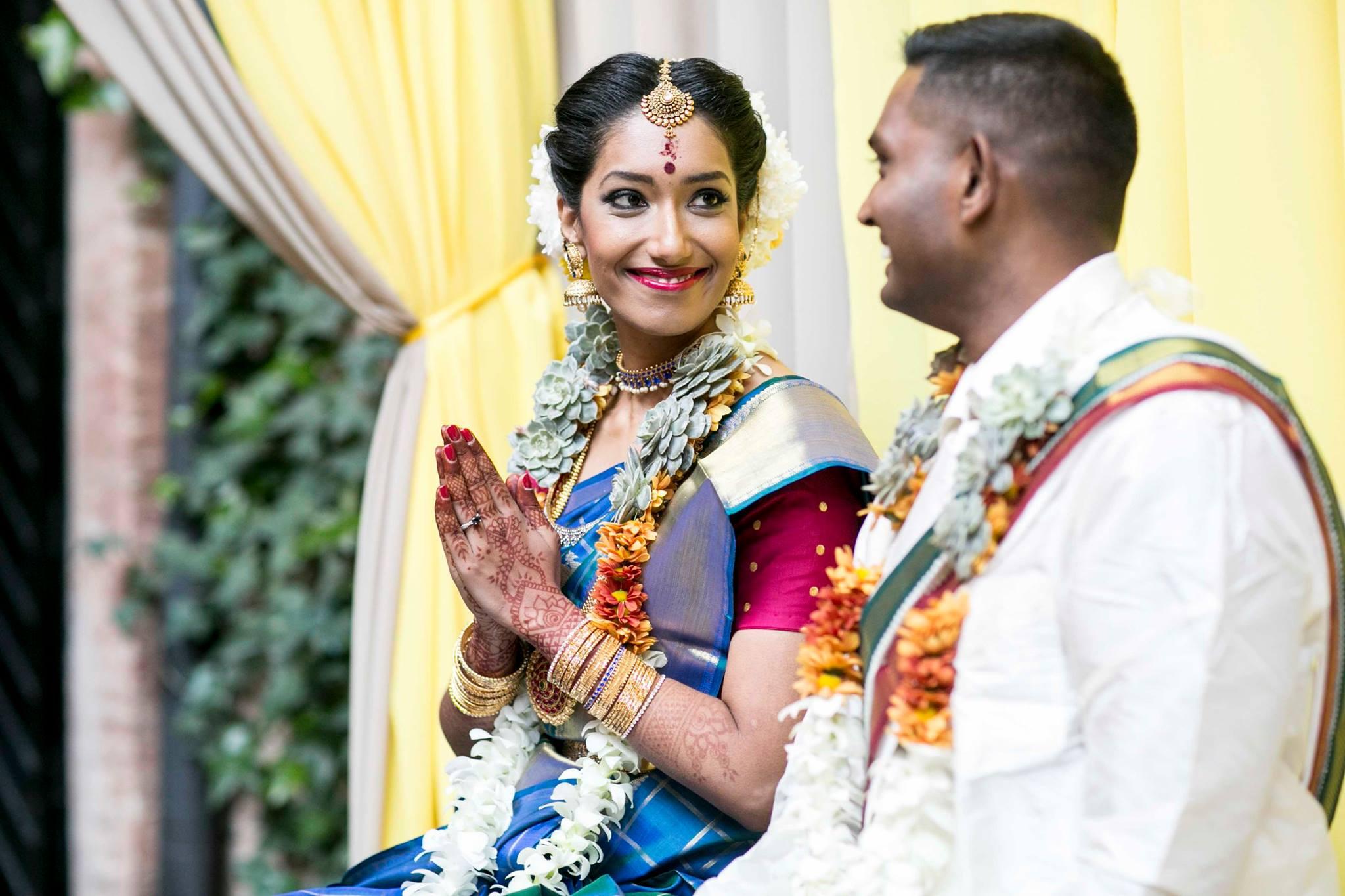 La boda india de Siva y Pooj