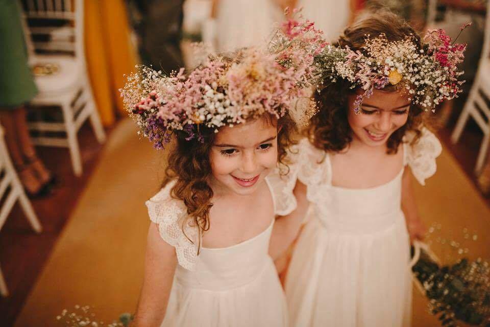 Coronas de flores de Patricia Buffuna
