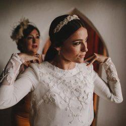 Maquillaje de Mar Martinez para la boda de Clara y javi