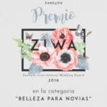Premios Ziwa, belleza para novias