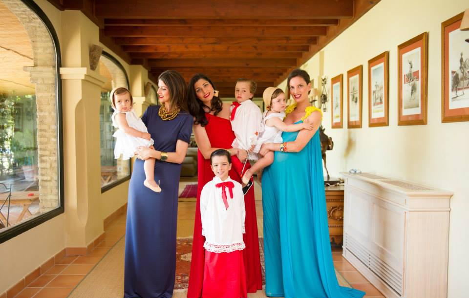Invitadas para una boda de día. Hijas de Rafael Peralta