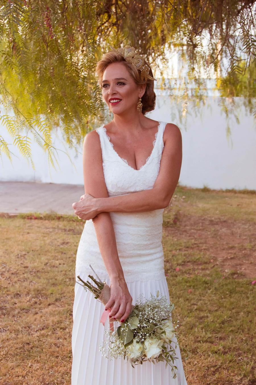 vestido de novia, estilo años 20