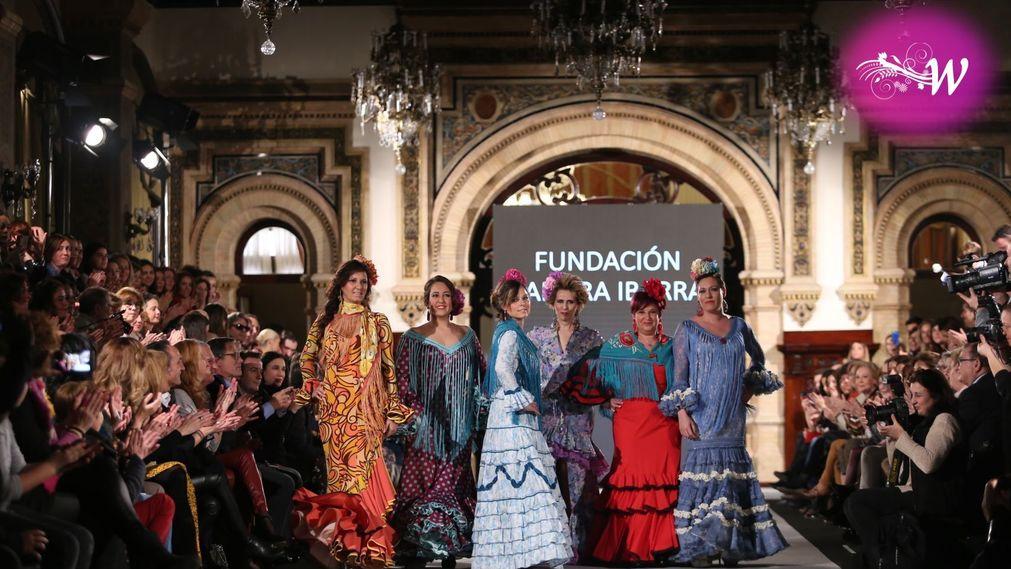 Desfile Fundacion Sandra Ibarra en We Love Flamenco 2018
