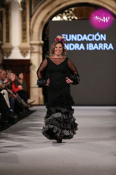 Desfile Sandra Ibarra en We Love flamenco