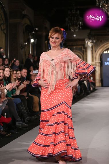 Fundacion Sandra Ibarra,desfile en We Love Flamenco 2018
