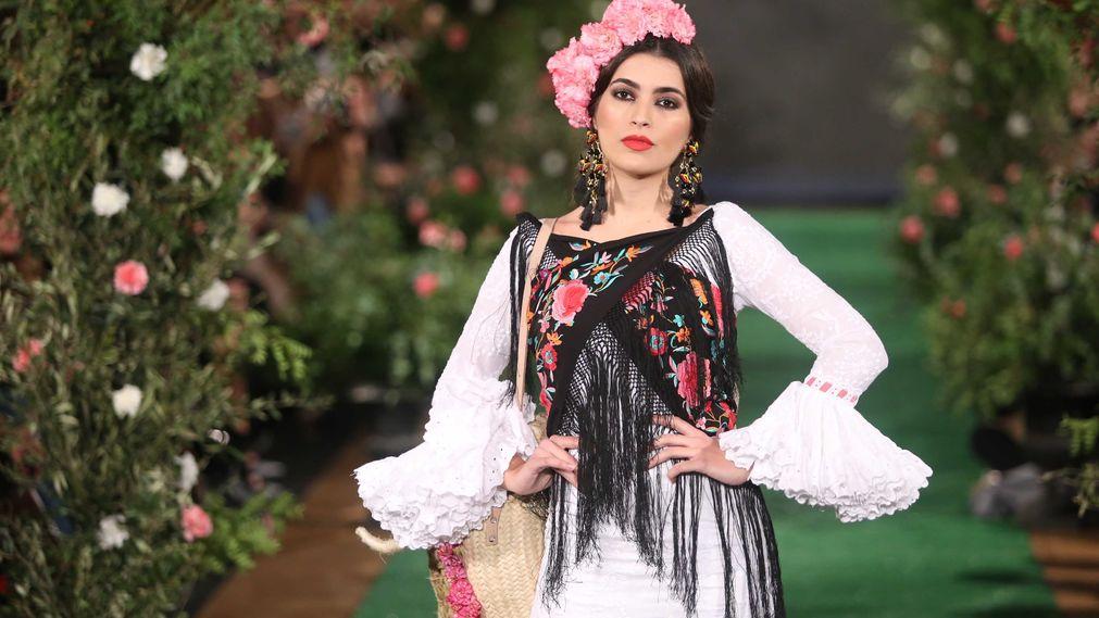 Tendencias de maquillaje sobre la pasarela We Love Flamenco 2018