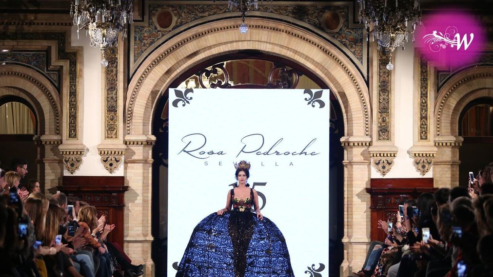 Clausura We Love Flamenco, Desfile Rosa Pedroche