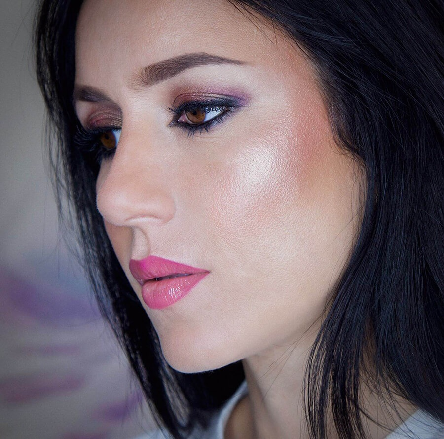 Maquillaje Glow, puedes aprender a hacerlo en mis cursos de automaquillaje