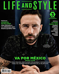 Maquillaje masculino paso a paso. Miguel Layún