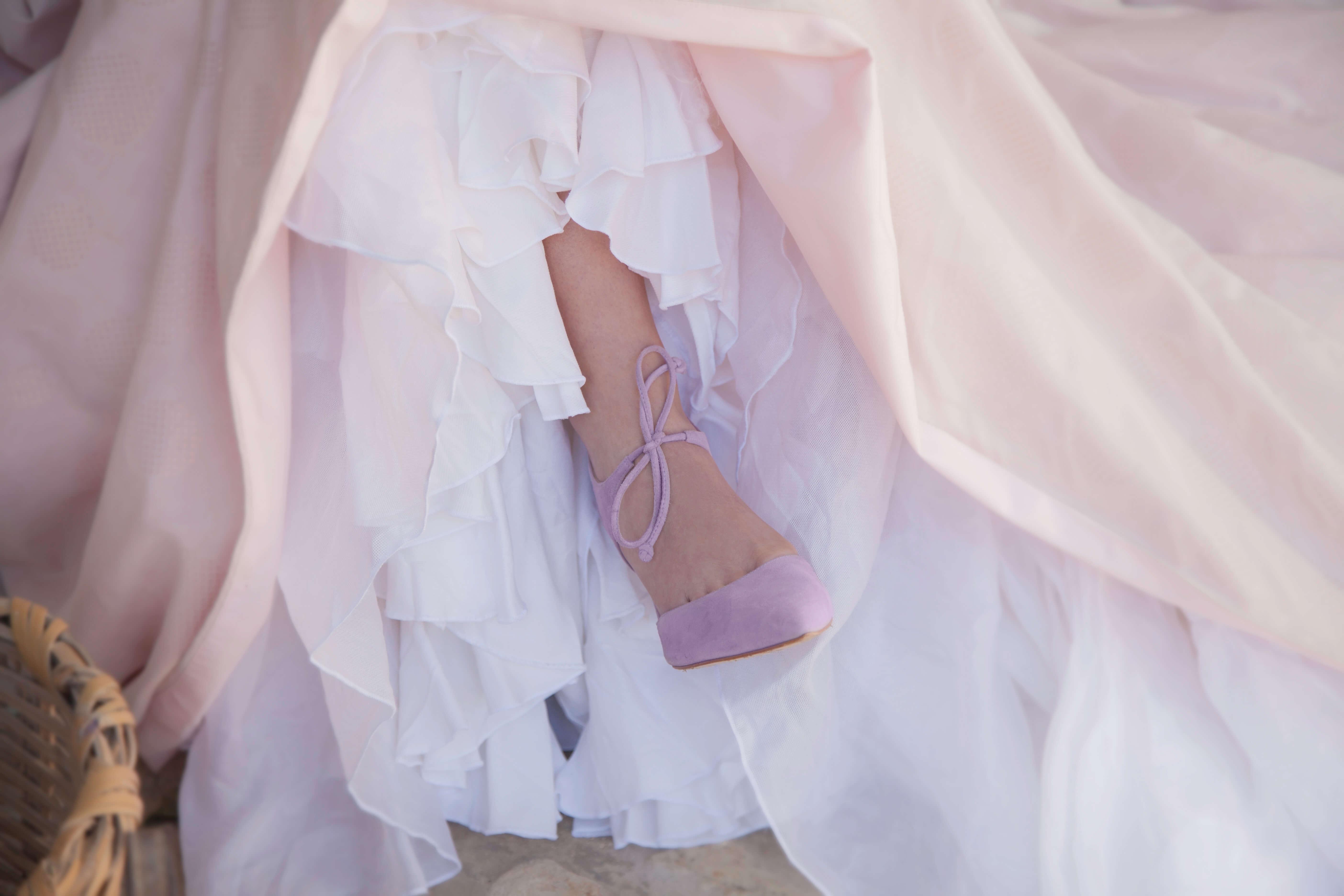 traje de novia de Manuel Zerpa. Premio revelación Bulevar Sur 2018