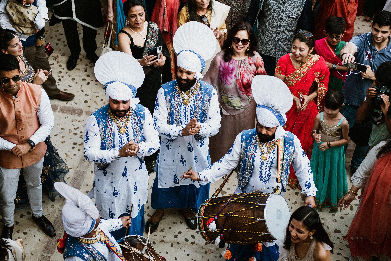 Sangeet en Sevilla. Boda india-andaluza