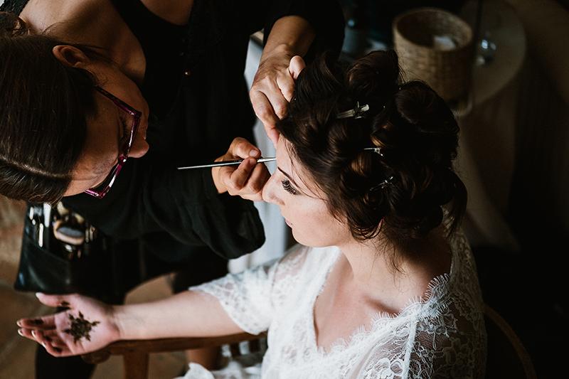 Maquillaje para boda india en sevilla