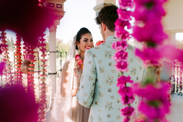 Indian wedding editorial featured on weddingsutra blog